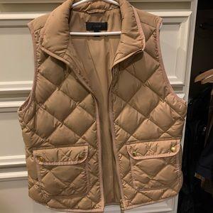 Jcrew quilted vest medium